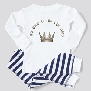 It's Good to be the King Toddler Pajamas