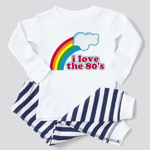 I Love The 80's Toddler Pajamas