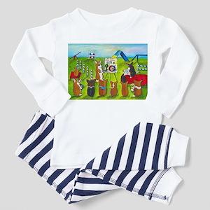 Agility Class Toddler Pajamas
