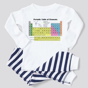 Periodic Table of Elements Toddler Pajamas