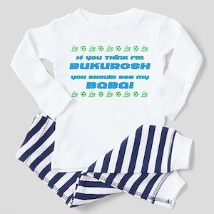 Baby Shqipe Toddler Pajamas