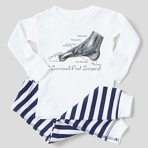 I Survived Foot Surgery! Toddler Pajamas