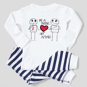 Be a Friend Toddler Pajamas