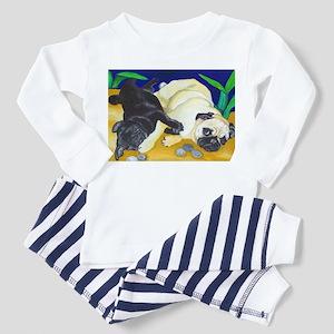 Pug Play Toddler Pajamas