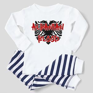 Albanian Blood Toddler Pajamas