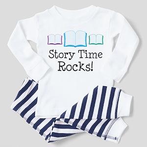 Story Time Rocks Toddler Pajamas