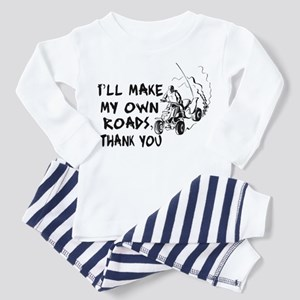 Make My Own Roads Toddler Pajamas