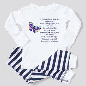 A Child Is Like a Butterfly....Beautiful Pajamas