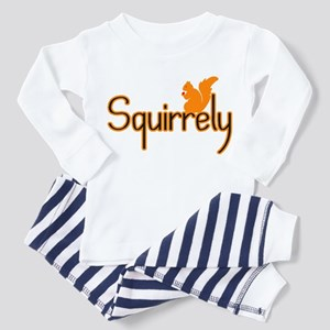 Squirrely Toddler Pajamas