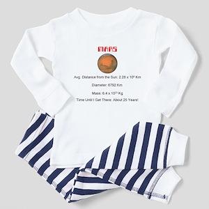 Future Martian Astronaut Toddler Pajamas