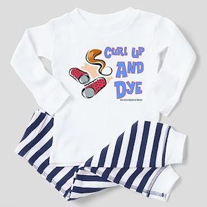 Curl Up And Dye Salon Toddler Pajamas