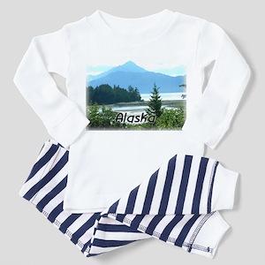 Alaska Scenic View Women's Dark Pajamas