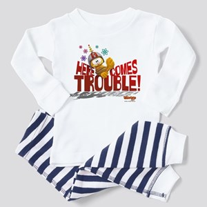 Here Comes Trouble Toddler Pajamas