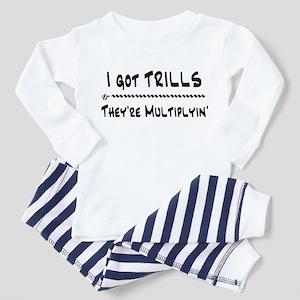 I Got Trills Grease Parody Toddler Pajamas