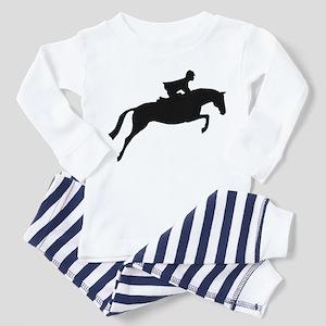 h/j horse & rider Toddler Pajamas