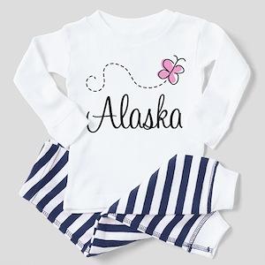 Pretty Alaska Toddler Pajamas