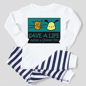 Save A Life Adopt a Pet Toddler Pajamas