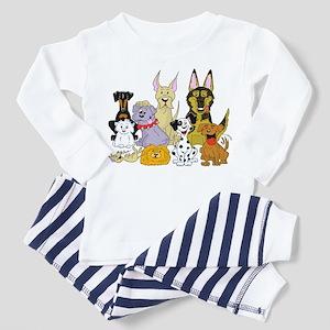 Cartoon Dog Pack Toddler Pajamas