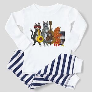 Jazz Cats Toddler Pajamas