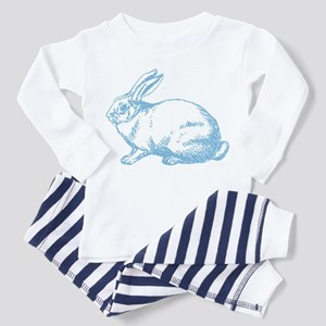 White Rabbit Toddler Pajamas