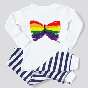 Artistic Gay Pride Butterfly Toddler T-Shir