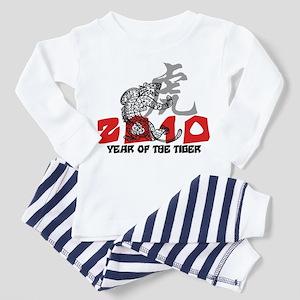 2010 Year of The Tiger Toddler Pajamas