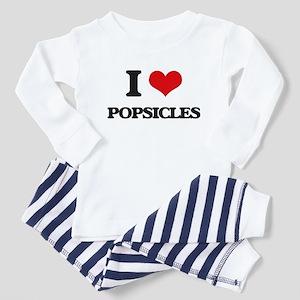 I Love Popsicles Pajamas