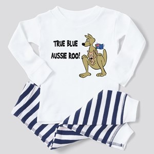 True Blue Aussie Roo Toddler Pajamas