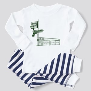 Bonnie and Clyde Toddler Pajamas