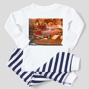 Lake Scott Rod Run-57 Chevy Toddler Pajamas