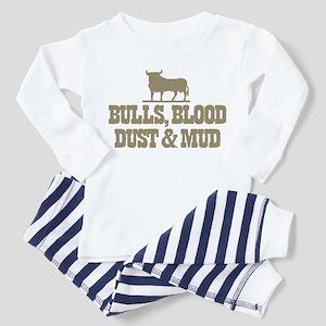 BULLS & BLOOD Toddler Pajamas