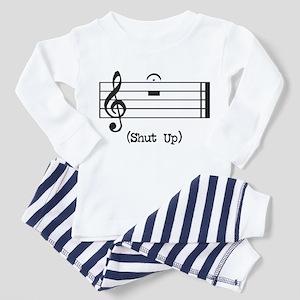 Shut Up (in musical notation) Toddler T-Shi