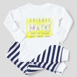 Cancer Friends Toddler Pajamas