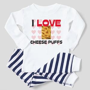I Love Cheese Puffs Toddler Pajamas