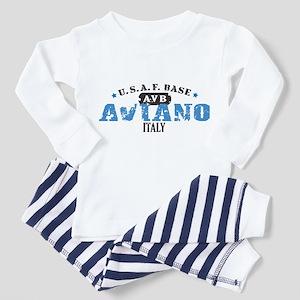 Aviano Air Force Base Toddler Pajamas