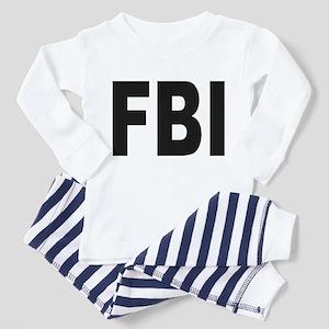 FBI (Front) Toddler Pajamas
