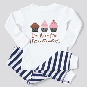 Here for the Cupcakes Toddler Pajamas