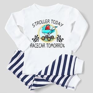 Stroller Today Racecar Tomorrow Toddler Pajamas