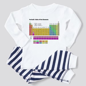 Periodic Table of the Elements Pajamas