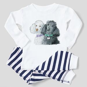 Two Poodles Toddler Pajamas
