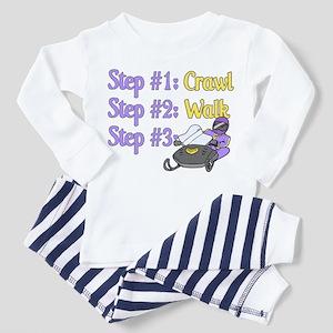 Step 1... Step 2... Toddler Pajamas