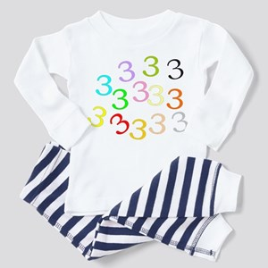 The Three's Toddler Pajamas