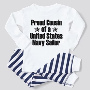 Proud Navy Cousin Star Toddler Pajamas