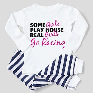 Real Girls Go Racing Toddler Pajamas