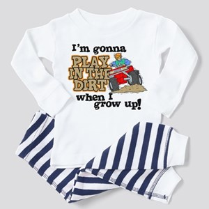 Play In The Dirt Toddler Pajamas
