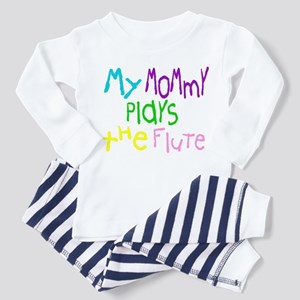 Mommy Plays Flute Toddler Pajamas
