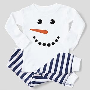Snowman Face Funny Pajamas
