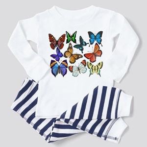 Butterflies Toddler Pajamas