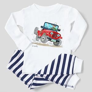 Willys-Kaiser CJ5 jeep Toddler Pajamas