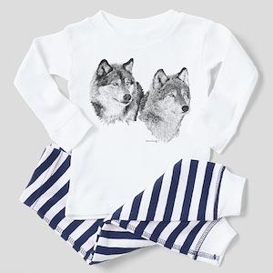Lone Wolves Toddler Pajamas